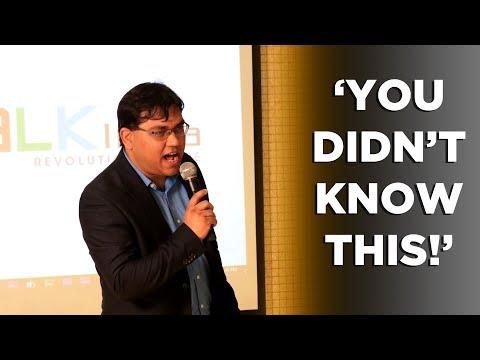 BAAHUBALI's Training Secrets Revealed   Humorous Talk at India's Best Public Speaking Championship