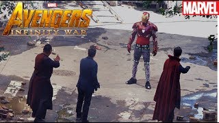Infinity War Leaked Photos [Iron Man vs. Dr. Strange]