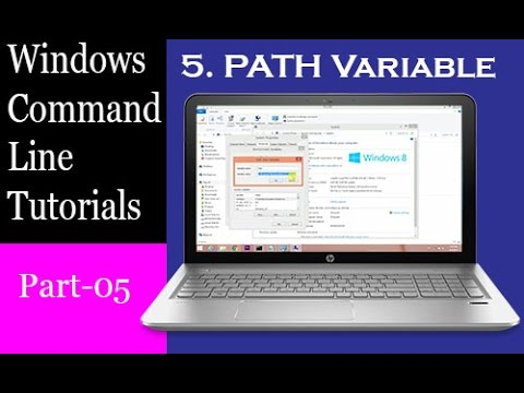 Windows Command Line Tutorial - PATH Variable(Hindi)| Part-5
