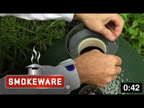How to Install the Chimney Cap Adapter on a Small & MiniMax BGE