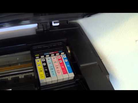 How to Replace a Printer Cartridge for an Epson Stylus Printer