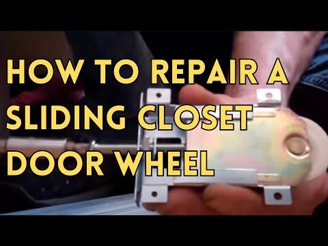 Sliding Glass Door closet door repair
