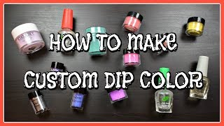 What's The 411? | Custom Dip Powder Color