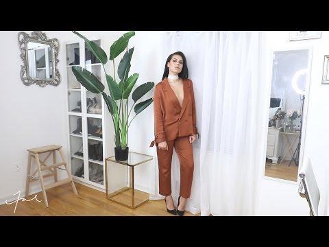 Vlog I Lookbook & Recording Studio