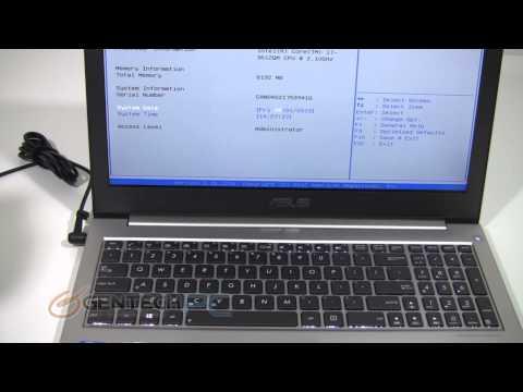 Easy way to enter Legacy / UEFI BIOS