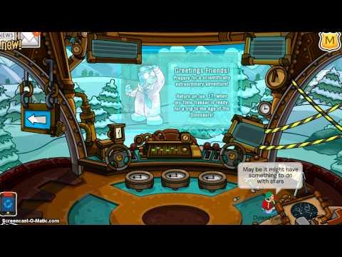 Club Penguin:Gary's New Machine (Room)