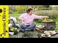 Jamie Oliver's lovely BBQ steak sandwich