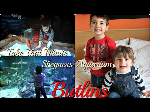 SKEGNESS AQUARIUM AND TAKE THAT TRIBUTE | BUTLINS FAMILY HOLIDAY 2018