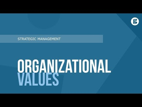 Organizational Values