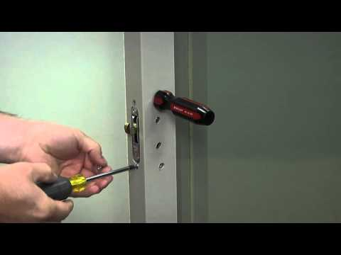 How to Replace the Single Mortise Lock on a Builders Vinyl Patio Door