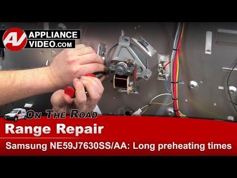 Samsung Range / Oven - Taking too long to preheat - Diagnostic & Repair