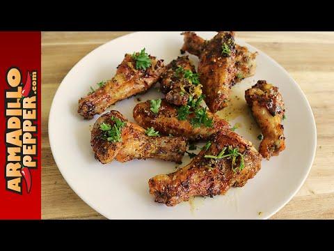 Grilled Lemon Pepper Chicken Wings | Tennessee Whiskey Seasoning