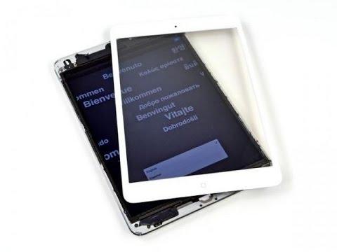 Стекло Apple iPad Mini Retina Touch screen
