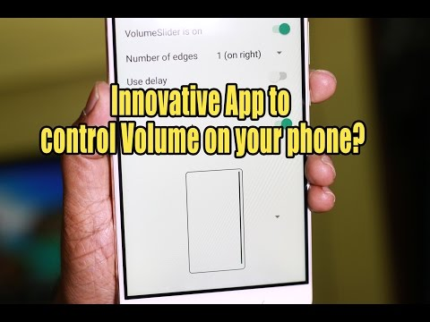Innovative App to control Volume on your phone