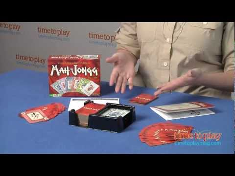 Mah Jongg Card Game from Winning Moves Games