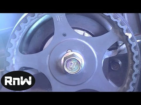 Hyundai Elantra Timing Belt Replacement Part 2