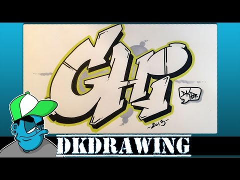 graffiti tutorial for beginners how to draw graffiti style letters g to i