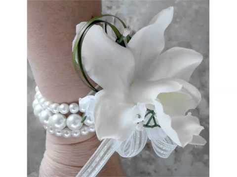 Ideas Of White Corsage For Prom Collection Romance