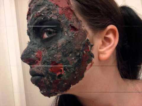 Advance Zombie Makeup