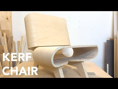 Kerf Bent Plywood Chair - Quick Cut