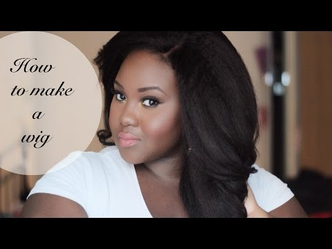 How to make a full wig: mykhair.com |Chanel Boateng