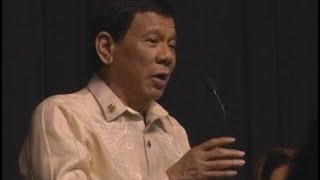 Duterte sings at Asean gala dinner