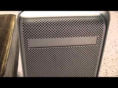 PowerMac G5 Setup/First Run + RAM, Hard Drive, and OSX Installation