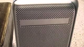 Powermac G5 Setupfirst Run Ram Hard Drive And Osx Installation