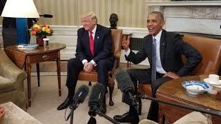 Donald Trumps öffentliche Demütigung durch Barack Obama bei Eliten Event