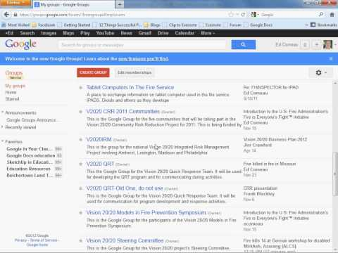 Adding People to Google Groups