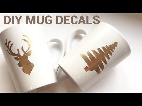 Dollar Tree DIY  How to make custom designed mugs * NO Machine needed