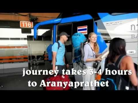 Bus from Bangkok to Cambodia ( How to get from Bangkok to Siem Reap by bus )