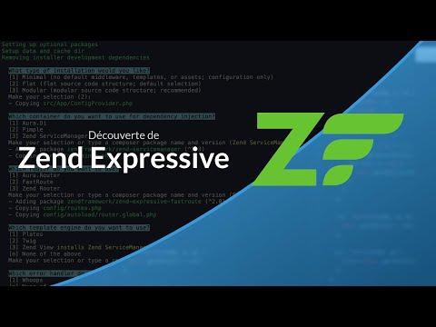 Tutoriel PHP : Zend Expressive