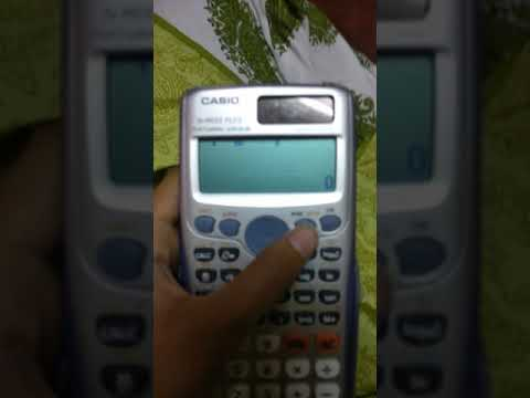 How to remove normal Distribution  on scientific calculator