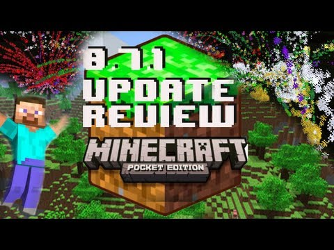 Minecraft Pocket Edition 0.7.1 Update Review (0.7.0 Bugfix Update) iPhone/iPod/iPad/Android
