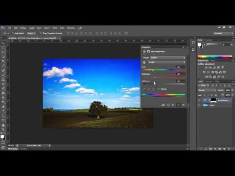 Simple Winter Wonderland: Photoshop CS6