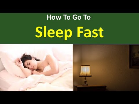 How to go to sleep Fast|Keep the room dark