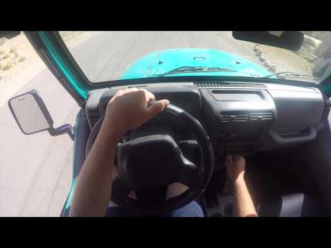 How to drive a manual Jeep