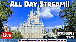 Download 🔴Live: Disney's Magic Kingdom ALL DAY Live Stream 1080p - Walt Disney World - 3-16-19 Video