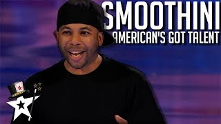 Smoothini on America's Got Talent | All Performances | Magicians Got Talent