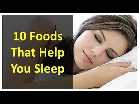 10 Foods That Help You Sleep