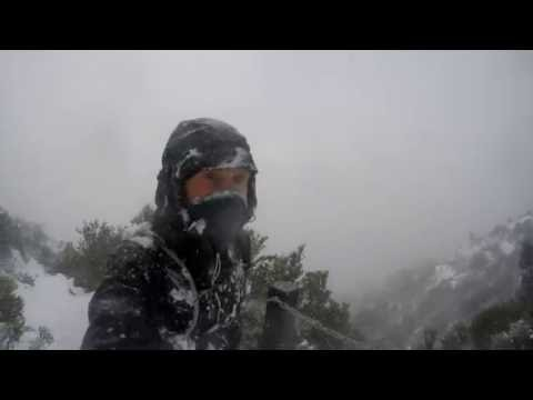 Storm on the Mountain | Mt Wellington in Winter