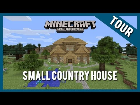 Small Country House Tour |  Minecraft Xbox One Edition