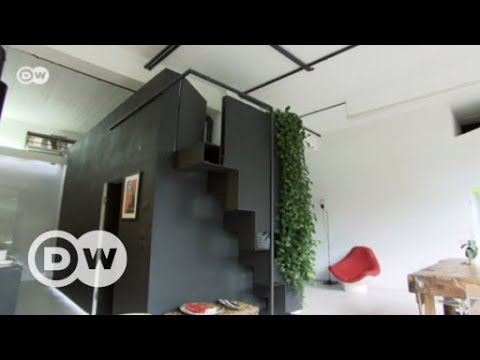 Turning a garage into a designer home | DW English