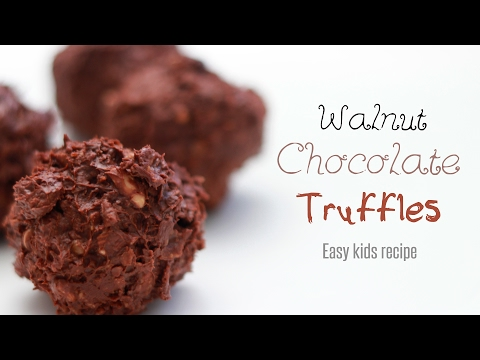 No Bake Chocolate Balls Recipe | Healthy Chocolate Truffles for Kids by WOW Recipes