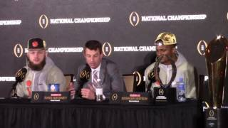 TigerNet.com - Champions press conference after 2016 National title