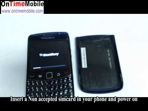 How to Check Ur IMEI and How to unlock blackberry 9780