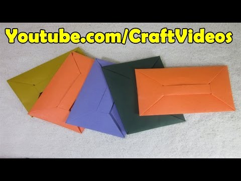 Teachers Day Origami Gift | teachers day origami cards | How to make an Origami Envelope