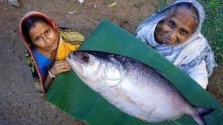 PADMAR SARSHE ILISH !!! 1.5 KG Hilsha Fish Prepared by our Grandmother