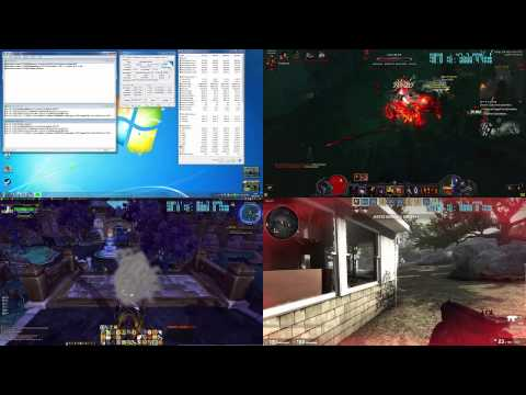 Old Intel dual-core E5200 overclocked in new games